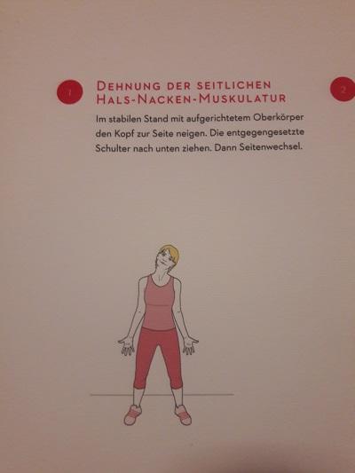 Entspannte Hals-Nacken-Muskulatur - Dein LCHF